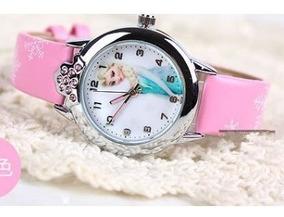 Relógio Princesa Elsa, Infantil, Pulso