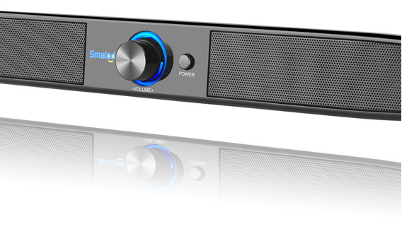 Smalody Soundbar Usb Alimentado Alto-falantes Estéreo De Cin