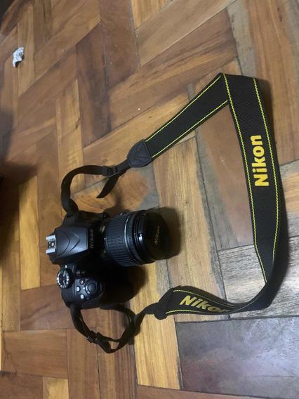 Câmera Nikon D3400 Af-p Dx Nikkor 18-55mm F/3.5-5.6g Vr