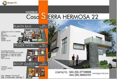 Preciosa Casa En Venta Tipo Minimalista En Fracc. El Refugio Qro. Mex.