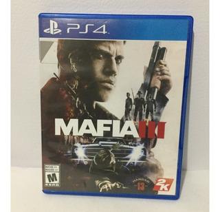 Mafia 3 Físico Ps4 Playstation 4