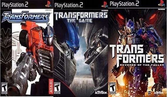 Transformers Collection (3 Jogos) Ps2 Desbloqueado Patch