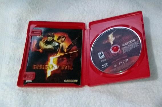 Resident Evil 5 Ps3 Midia Fisica Usado
