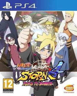 Juego Ps4 Naruto Shippuden Ninja Storm 4 Road To Boruto