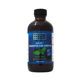 Pasto Verde Azul Hielo Fermentado De Hígado De Bacalao Aceit