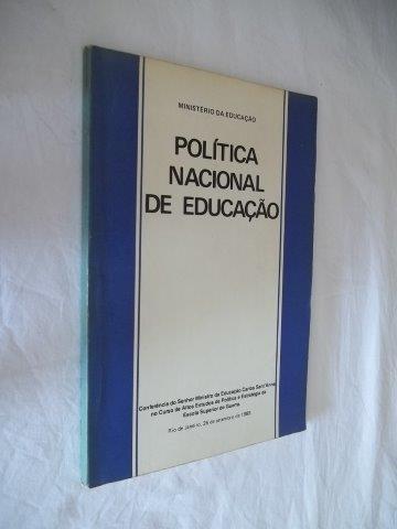 * Livro - Politica Nacional De Educação - Pedagogia