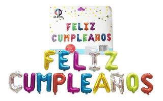 Letrero Inflable Feliz Cumpleaños