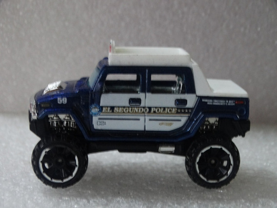 Hummer H2 Sut Policia - Hot Wheels 2011 - 1:64 Loose