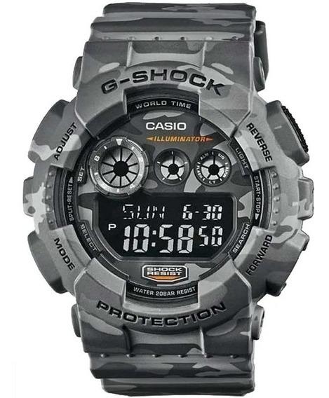 Relógio Camuflado Gd 120cm A Prova D