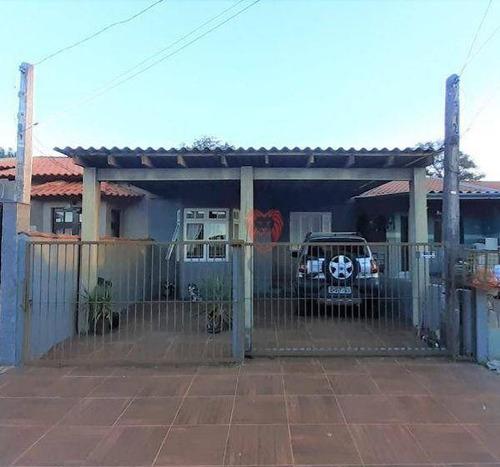 Imagem 1 de 10 de Casa Com 2 Dormitórios À Venda, 54 M² Por R$ 220.000 - Salgado Filho - Gravataí/rs - Ca1365
