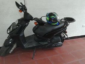 Yamaha Bws 2010 Negra + Casco Shaft