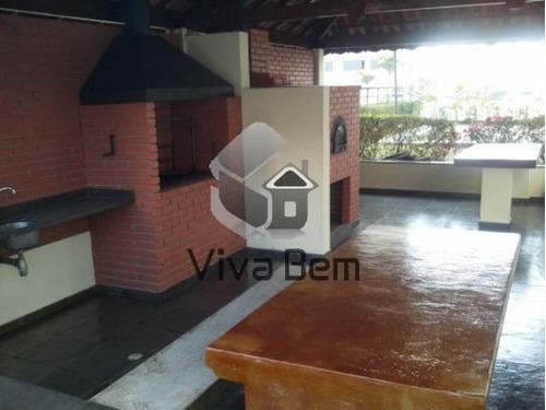Apartamento Com 2 Dormitórios ( 1 Suíte ) À Venda, 67 M² Por R$ 390.000 - Tatuapé - São Paulo/sp - Ap0593