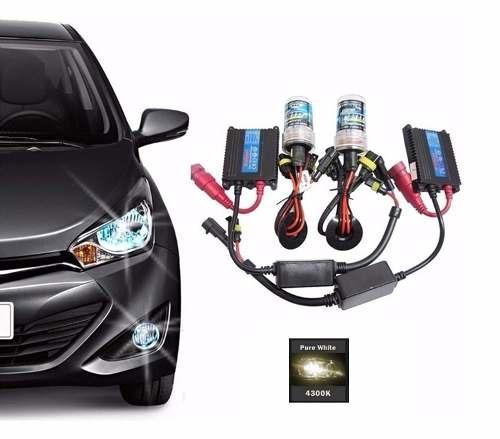 Kit Xenon Hid Hb4 4300k Reator Slim Digital Lampada