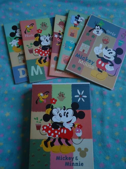 Box De Fotos Com 5 Álbum Mickey E Minnie Do Japão Usado