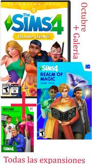 Los Sims 4 Deluxe Edition +expansiones+ Galeria Pc Y Mac