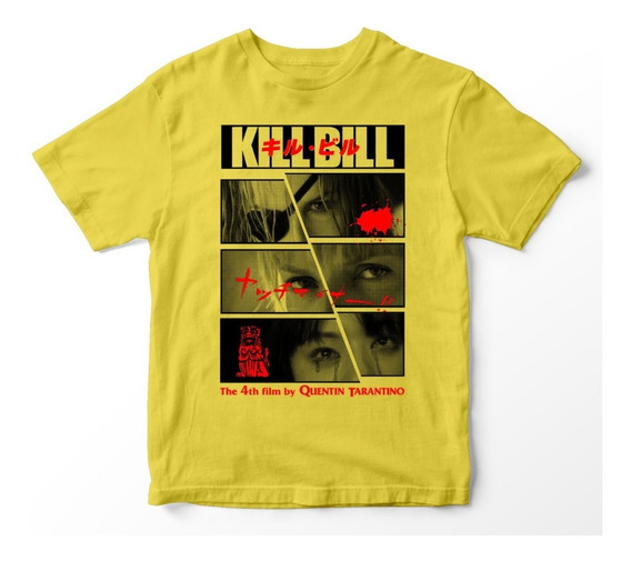Nostalgia Shirts - Kill Bill Yellow