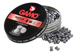 Balines Gamo Match Díabolo 4.5 X250 - Blanco Aire Comprimido