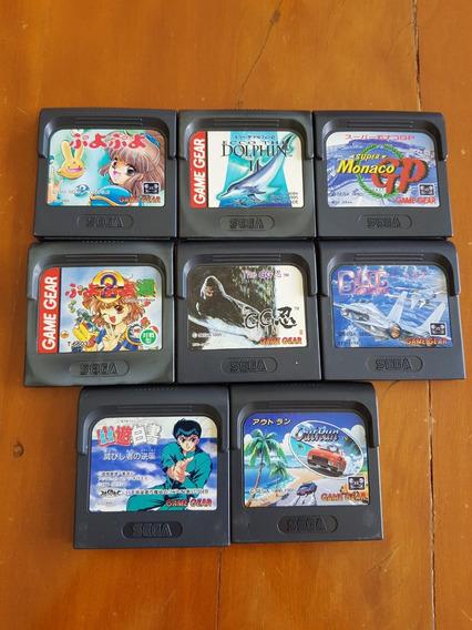Game Gear Sega - Lote Com 6 Games - 04 Lê O Anuncio