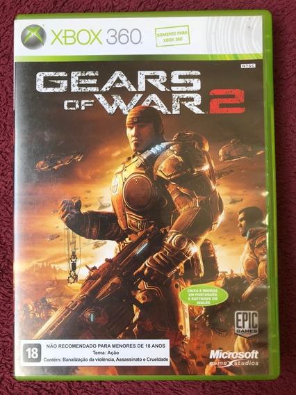 Gears Of War 2 Xbox 360-oriassassiginal Novo Porem Sem Lacre