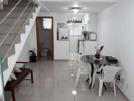 Casa Geminada Com 2 Quartos Para Comprar No Planalto Em Belo Horizonte/mg - Dl2058
