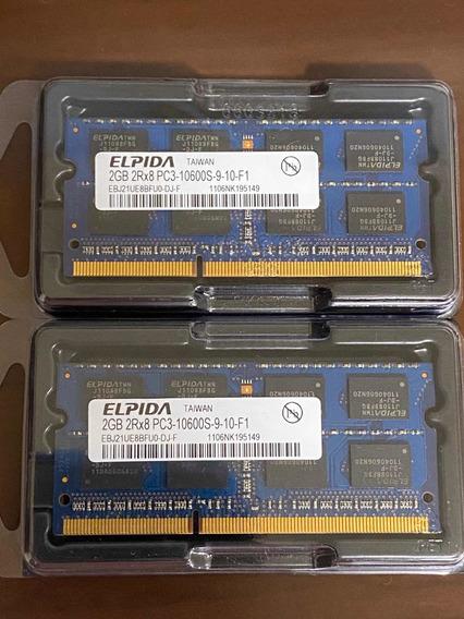 Memória Ddr3 1333mhz 2x2gb iMac