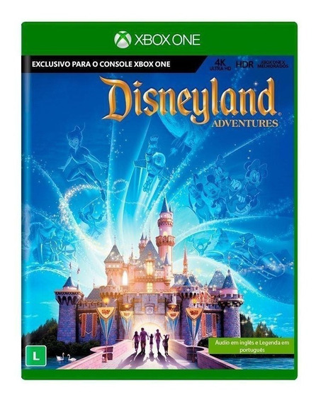 Disneyland Adventures - Xbox One - Novo - Lacrado