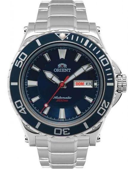 Relógio Orient Masculino Automático 469ss048 D1sx Azul