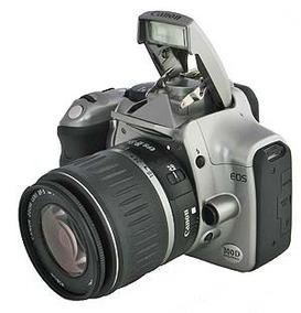 Câmera Canon Eos 300d Vai Carregador ,sem Bateria.