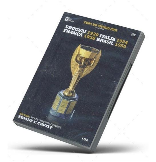 Dvd Copa Do Mundo Fifa Abril Coleções Original Lacrado