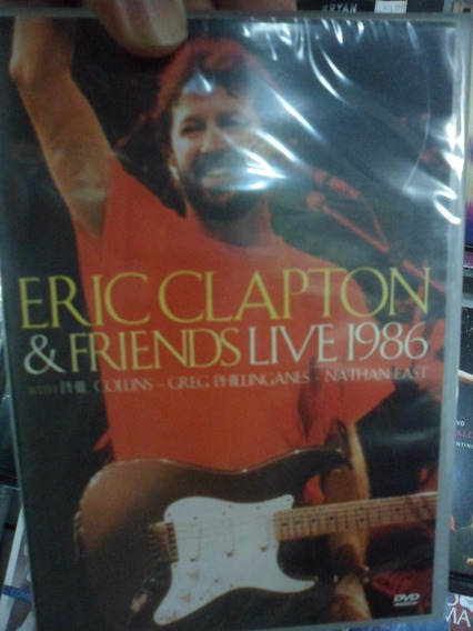 Dvd Eric Clapton & Friends - Live 1986