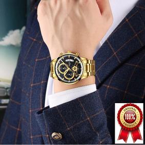 Relógio Masculino Nibosi Original 100%funcional Varias Cores