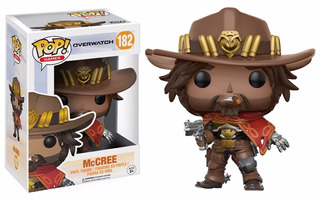 Funko Pop #182 Mc Cree - Overwatch Blizzard - 100% Original