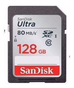Sandisk Sdxc Ultra 80mb/s 532x 128gb Camera Canon Fujifilm