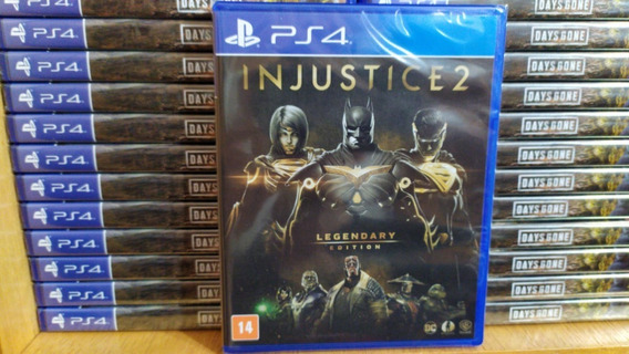 Injustice 2 Legendary Edition Ps4 Português Br Mídia Física