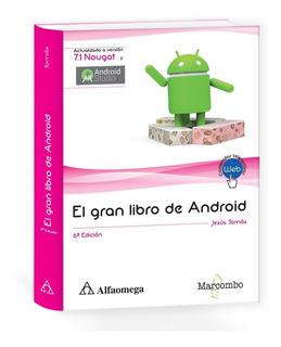 Libro El Gran Libro De Android 6ª Edición * Version Nougat