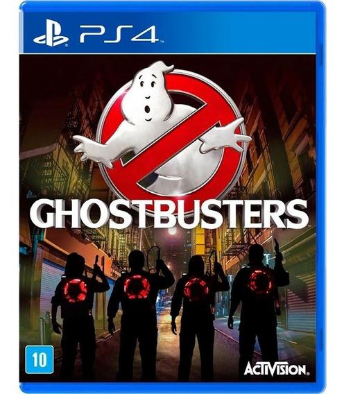 Jogo Ghostbusters Ps4 Mídia Física Usado