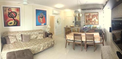 Imagem 1 de 12 de Apartamento Com 3 Dormitórios, 1 Suite, Sacada Com Churrasqueira Em Jurerê - Ap3992