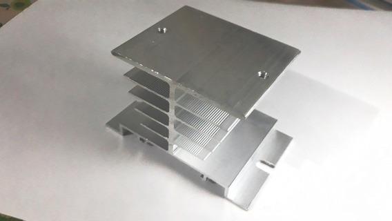Dissipador De Alumínio De Calor Para Relés De Estado Sólido