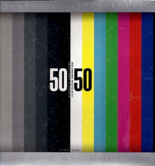 Livro 50 Anos De Tv No Brasil