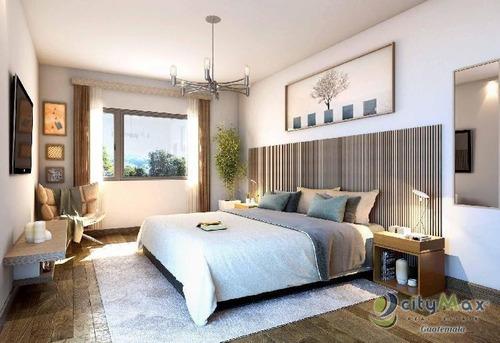 Vende Apartamento En Construccion Zona 14 Con Jardin - Pva-050-10-17-6