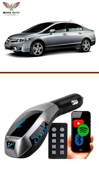 Adaptador Digital Veicular Bluetooth Usb Aux Mp3 New Civic