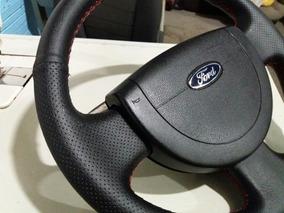 Capa Volante Fiesta E Eco Sport **couro Legitimo** Girino...