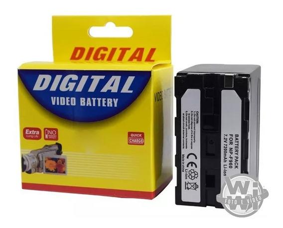 Bateria Para Filmadora E Iluminador Led Digital Np-f970