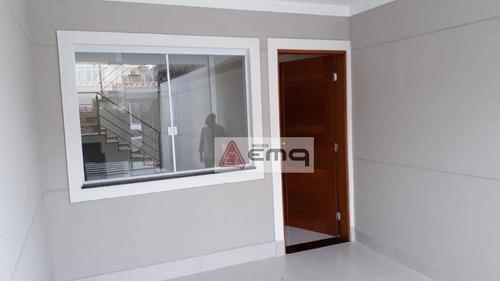 Sobrado Com 3 Dormitórios À Venda, 113 M² Por R$ 640.000,00 - Palmas Do Tremembé - São Paulo/sp - So0209