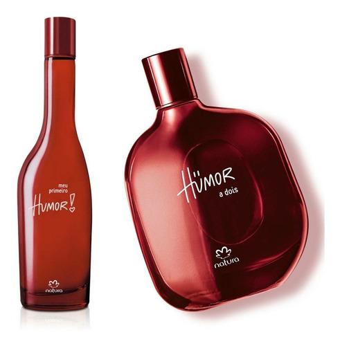 Humor Primero + Humor Dos Rojo Natura - mL a $325