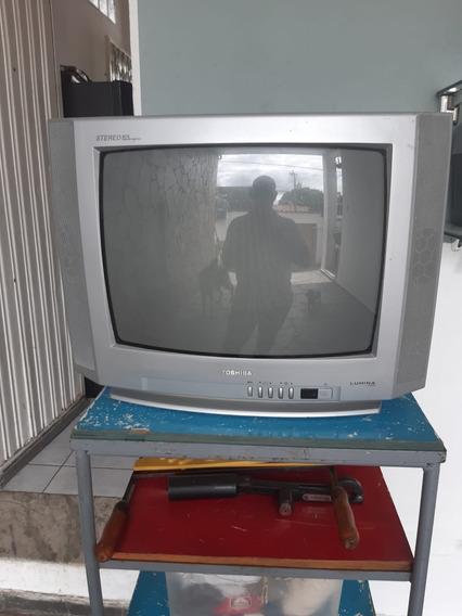 Televisor Televisão Toshiba Ilumina Line + Pronta Para Levar