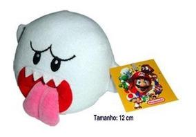 Pelúcia Turma Mario Bros Boo (12cm) - Importada