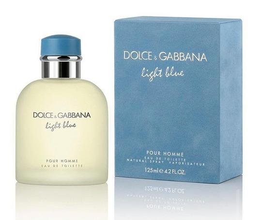 Perfume Light Blue Pour Homme Dolce&gabbana 125ml Edt Nuevo