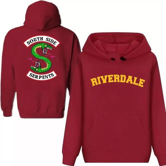 Moletom Capuz Riverdale Serie Bulldogs Serpentes