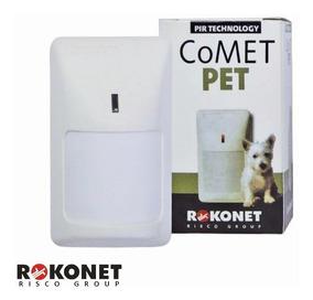 Sensor Infra Vermelho Alarme Rokonet Rk210 Comet Pet 20kg